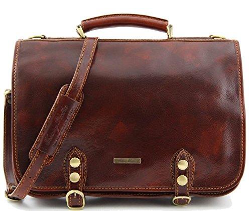 Capri-sac bandoulière en cuir de la marque tuscany leather