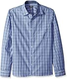 Van Heusen Men's Never Tuck Slim Fit Shirt,Crisp Blue,XX-Large