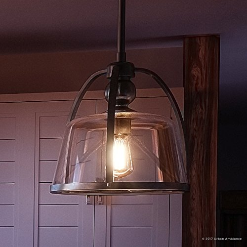 Spanish Ceiling Lighting - Luxury Vintage Hanging Pendant Light, Small Size: 11