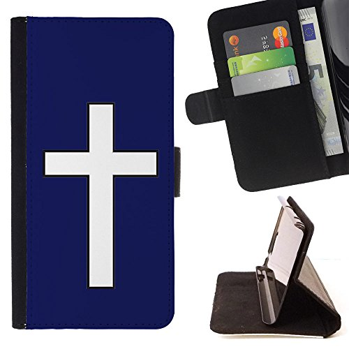 graphic4you-cross-design-thin-wallet-card-holder-leather-case-cover-for-apple-ipod-touch-6-navy-blue