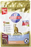 Hill's Science Diet Adult Grain-Free Salmon Dry Cat Food, 2-Pound