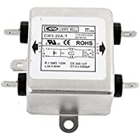 DealMux metal de fuente de EMI Filter CW3-20A-T