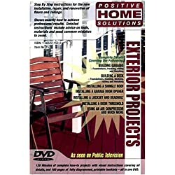 Exterior Projects: Home Improvement DVD