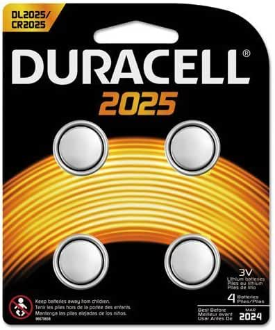 DURDL20254PK - Duracell Button Cell Lithium Battery 2025
