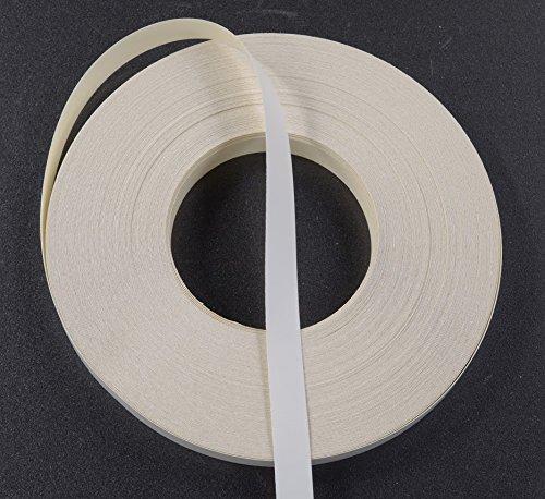 White Melamine Edge Banding Tape 13/16'' 250' Roll - Preglued
