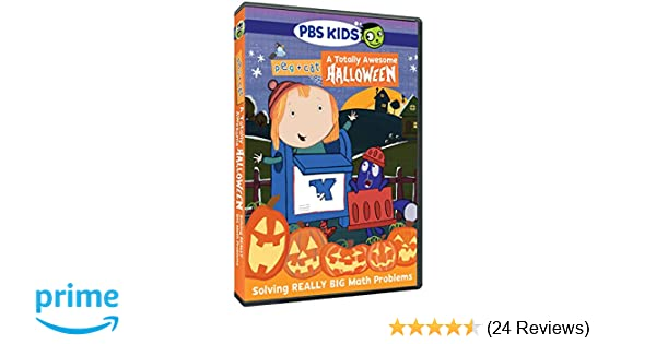 Pbs Kids Halloween Dvd.Amazon Com Peg Cat A Totally Awesome Halloween Movies Tv