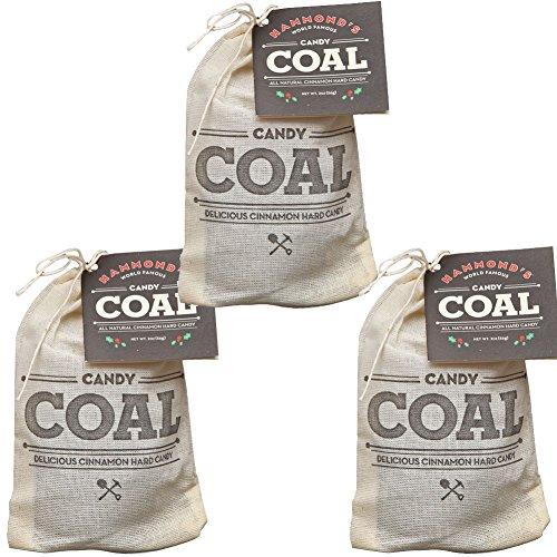 Johnson Smith Co (Set/3) Hammond's Candy Coal Cinnamon Christmas Holiday Stocking Stuffers ()