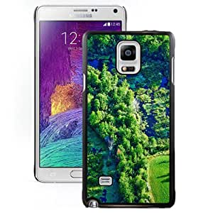 New Fashion Custom Designed Skin Case For Samsung Galaxy Note 4 N910A N910T N910P N910V N910R4 Phone Case With Forest Oasis Phone Case Cover