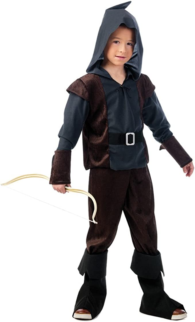 Limit Sport- Archer Arquero Medieval, disfraz infantil, Color ...