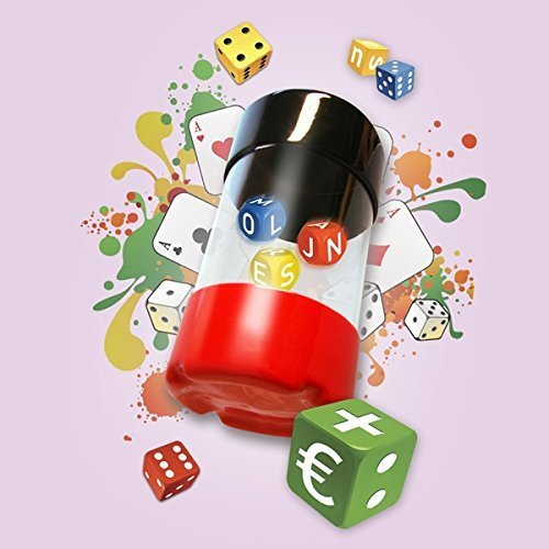 Continuum Games Dancing Dice Shaker Med Game