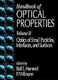 CRC Handbook of Optical Properties, , 0849324858
