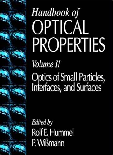 OPTICAL PROPERTIES OF SURFACES DOWNLOAD