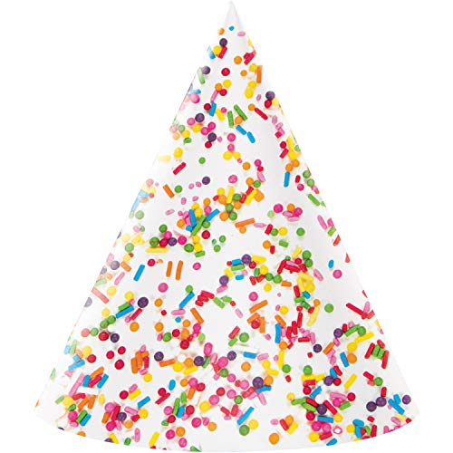 Confetti Sprinkles Party Hat, 24 ct ()