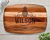 Pineapple, Cutting Board, Teak, Pineapple Decor, Pineapple Wall Art, Pineapple Art, Custom Cutting Board, Personalized Cutting Board, Gift for Her, Wife Gift, Baking Gifts