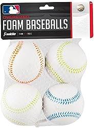 Franklin Sports Oversized Foam Balls-4 Pack