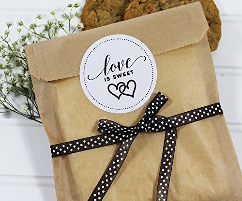 Wedding Favor Treat Bags with