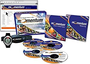Momentum Fitness & Weight Loss System Heart Rate Monitor and Complete Personalized Fitness Program