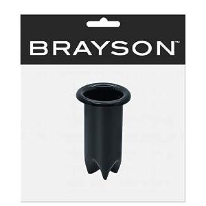 "Black Salon Equipment Hair Iron Appliance Holder 1 1/2"" Small AH-04"