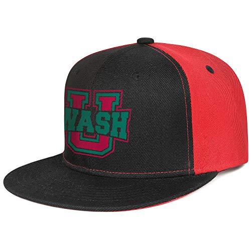 Louis University Baseball - Unisex Washington University in St. Louis WASH Baseball Cap Cotton Sports Trucker Hat
