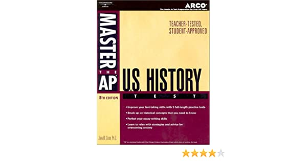 Amazon master ap us history 8th ed master the ap us history amazon master ap us history 8th ed master the ap us history test 9780768909968 arco books fandeluxe Gallery