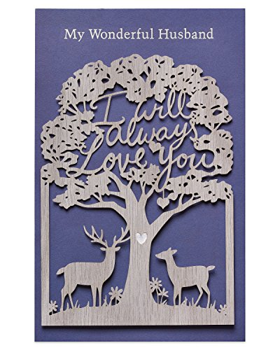American Greetings Always Anniversary Card for Husband with Foil
