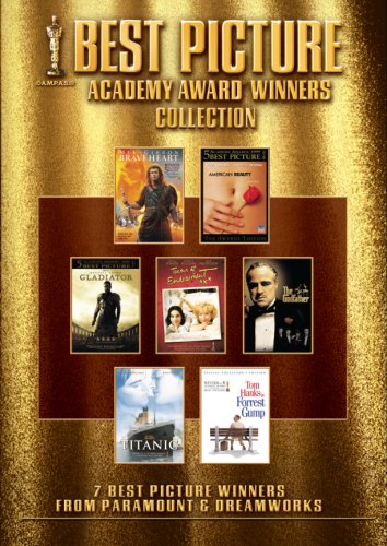 Best Picture Collection (American Beauty / Braveheart / Forrest Gump / Gladiator / The Godfather / Titanic / Terms of Endearment) by Paramount Home Video