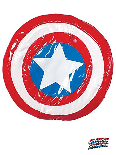 [Marvel Universe Classic Collection, Avengers Assemble Captain America Plush Shield] (Couples Costumes Funny)
