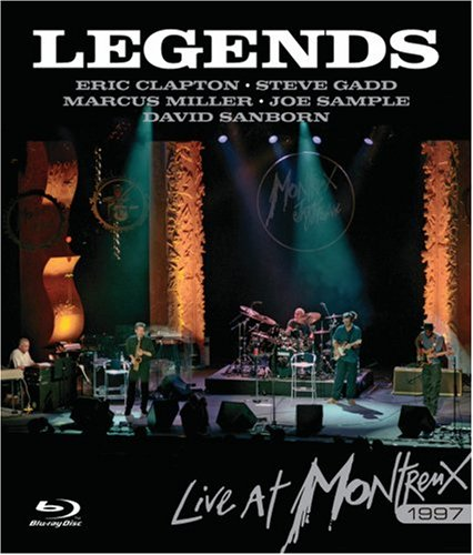 Blues Rock Legends - Legends: Live at Montreux 1997 [Blu-ray]