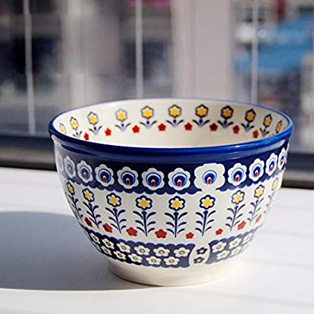 HGTYU-Domestic Japanese tableware large rice bowl fruit salad bowl dessert bowl & HGTYU-Domestic Japanese tableware large rice bowl fruit salad bowl ...