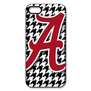 CTSLR iphone 5 Case - NCAA Alabama Crimson Tide - New Style Case for iphone 5 -Hard Plastic Case with Image - (15.20) - 52