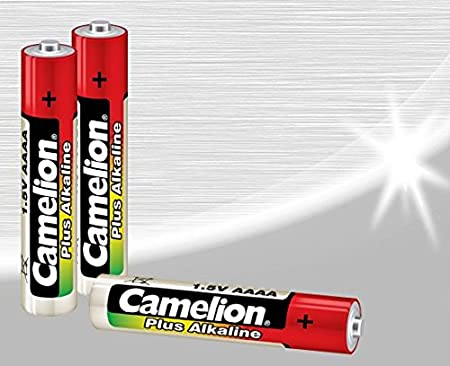 Camelion AAAA LR61 Alkaline Batteries Pack of 2 General Purpose Batteries & Battery Chargers at amazon