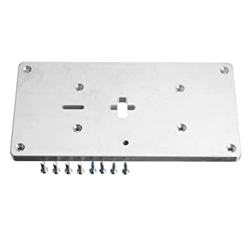 Wchaoen Placa de inserción de la mesa de la fresadora de aluminio ...
