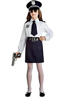 My Other Me Me-204232 Disfraz de policía para niña, 10-12 años ...