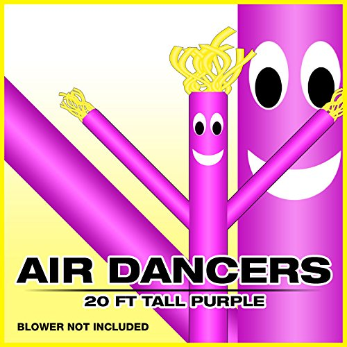 UPC 045635397514, 20ft Purple Skyer Wacky Waving Inflatable Fly Sky Guy Puppet Advertising Dancing Tube