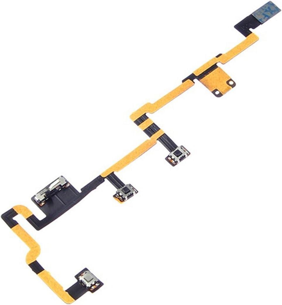 Power vibrate volume control button flex cable iPad 2 2012 CDMA replacement part