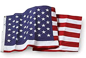 U.S. Flag - 4' x 6' Embroidered Cotton