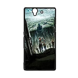 Generic Tpu Funny Back Phone Case For Girls Custom Design With The Maze Runner For Sony Xperia Z L36H Choose Design 4