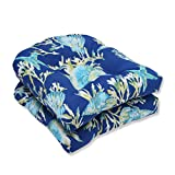 Pillow Perfect Outdoor/Indoor Daytrip Pacific Wicker Seat Cushion (Set of 2)