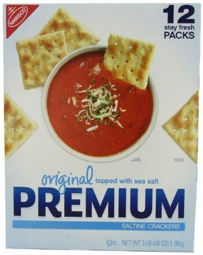 Original Premium Saltine Crackers Topped with Sea Salt by Nabisco