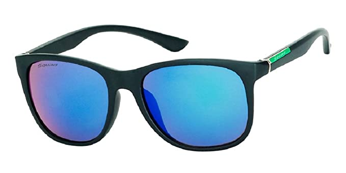 SQUAD - Gafas de Sol para Hombre y Mujer - efecto goma 100 ...