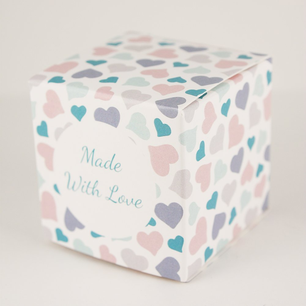 Amazon.com: Made in USA - 2 Inch Cube Favor Box (2\