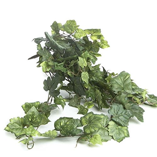 Factory Direct Craft Full Artificial Cascading Ivy Bush for Home Decor, and Displaying