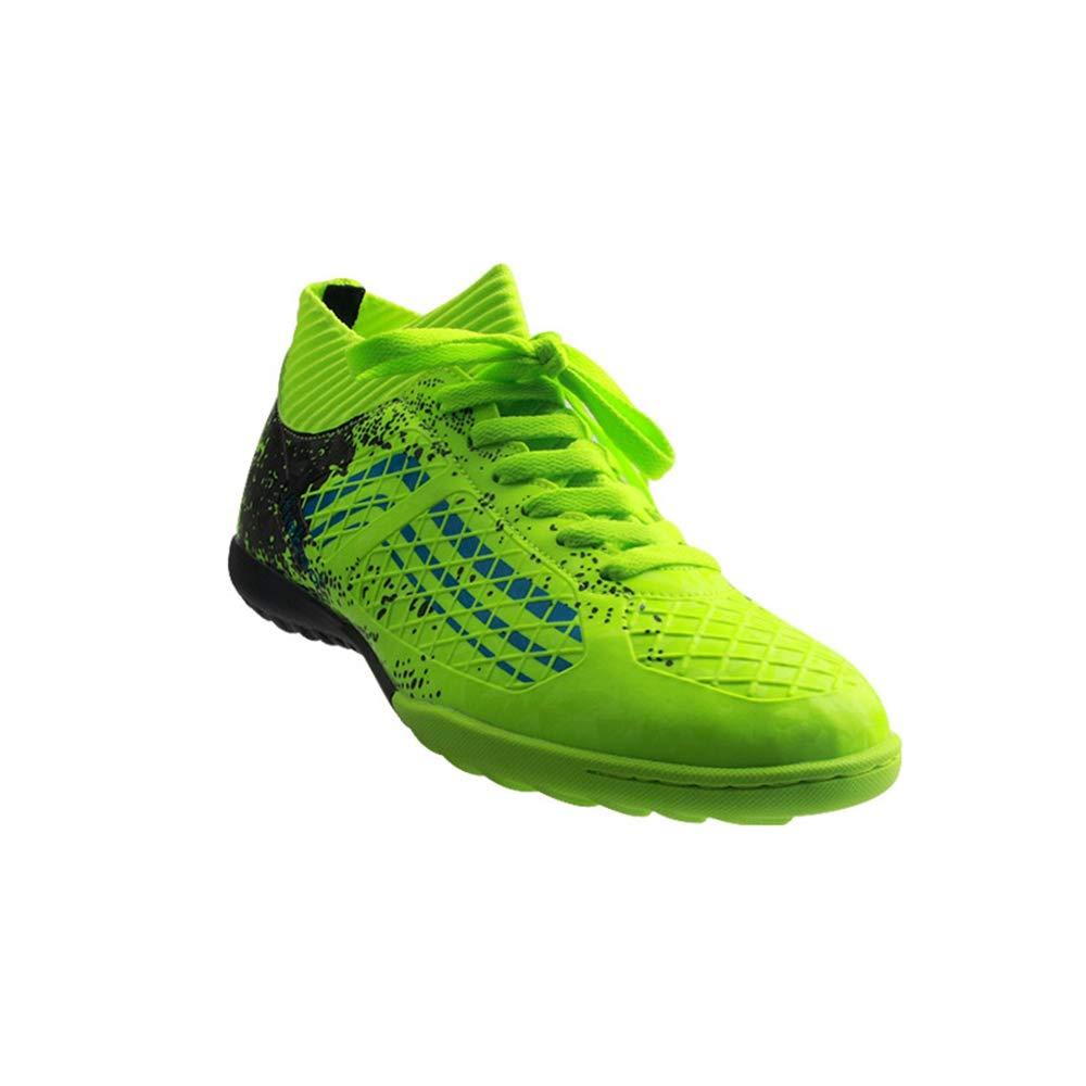 LYLZR Chaussures de Football Originales d'extérieur pour Hommes de Chaussures de Football Bottes de Football Baskets d'entraînement de Sport Chaussures