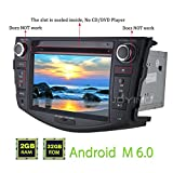 "JOYING 7"" Quad Core Android 6.0 Marshmallow for Toyota RAV4 2006-2011 Car Radio Stereo Support Steering Wheel Control Bluetooth 4.0 WiFi 1024*600 Capacitive Touch Screen GPS Navigation Head Unit"