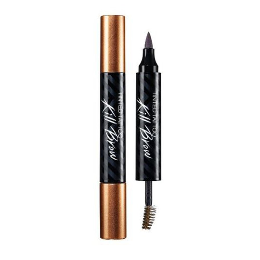 (6 Pack) CLIO Tinted Tattoo Kill Brow Tattoo Soft Brown by Clio (Image #1)