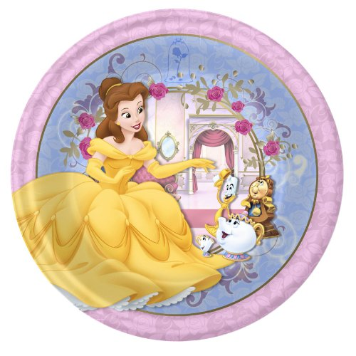 Beauty and the Beast 'Belle' Small Paper Plates (8ct)