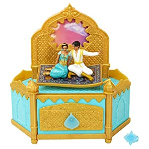 Aladdin Disney Musical Jewelry Box with Ring to Wear!