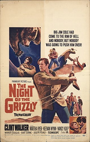 The Night of the Grizzly 1966 Authentic 14