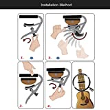 Tmalltide SHUBB L9 Acoustic Guitar Capo Aluminum Tone Adjusting for Ukulele Guitar