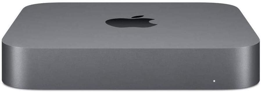 Apple Mac Mini Desktop Computer, 3.2GHz 6-Core Intel Core i7, 8GB Memory, 256GB SSD, Gigabit Ethernet (Late 2018 with a 2020 SSD Upgrade) Z0ZR0002T